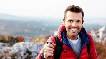 Man hiking | Dentist Greeley CO