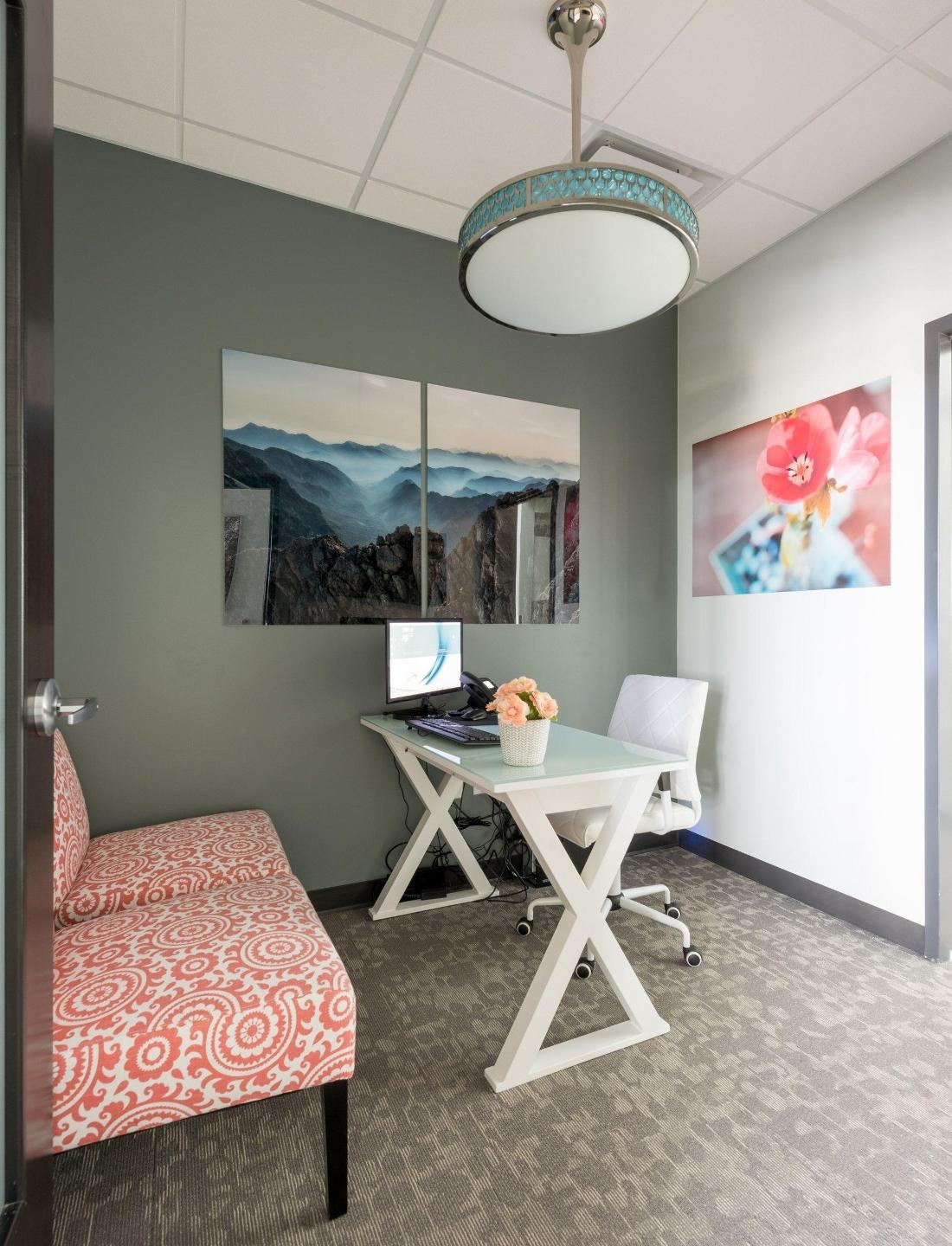 Area for dental consultations at Norco Family Dental in 80634