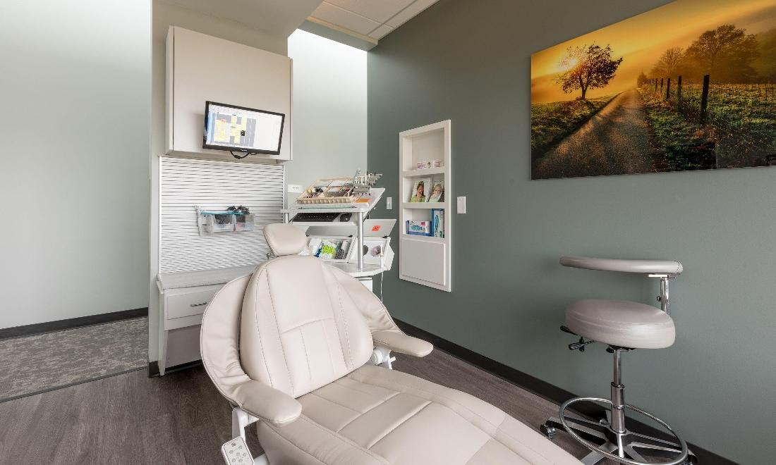 Treatment area at our 80634 dentist office