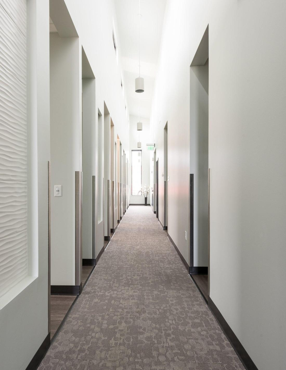 Hallway of treatment rooms at our West Greeley, CO dentist office