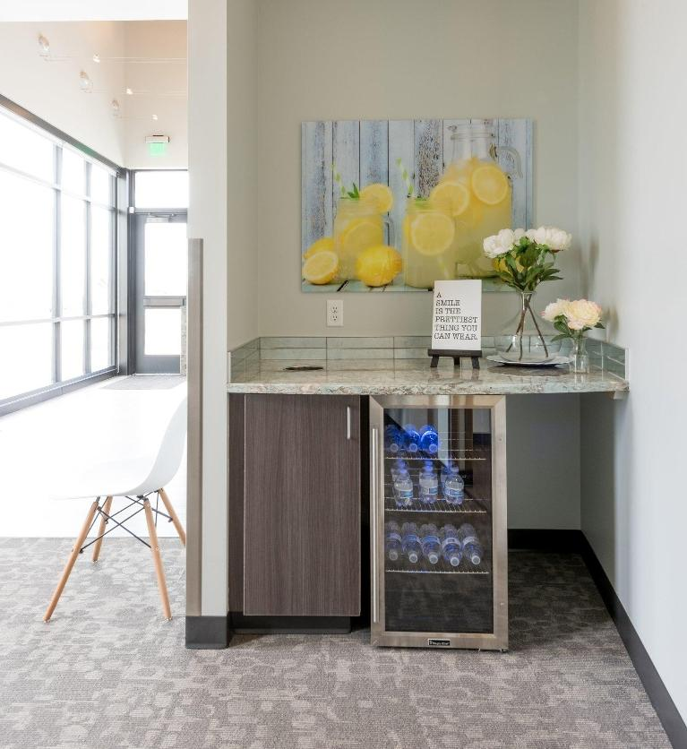 beverage area | Norco Family Dental